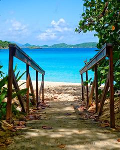 Beach Walkway by Brian Shannon