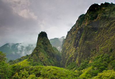 Iao Needle.  Maui, Hi.