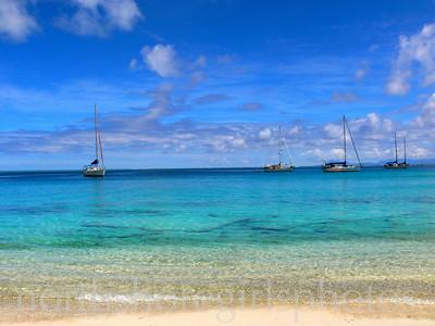 Tahiti Sailboats