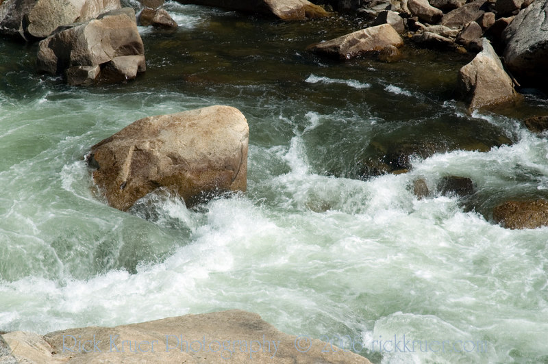 Closeup of Merced River flowing near route 140 in Yosemite.<br /> <br /> ND70_2006-07-28DSC_6209-YosemiteMercedRiverCloseup-2.jpg