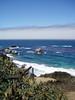 Eileen's great photo of the deep blue ocean at Big Sur, CA.<br /> P7252027-BlueOceanrockyCreek-2.jpg