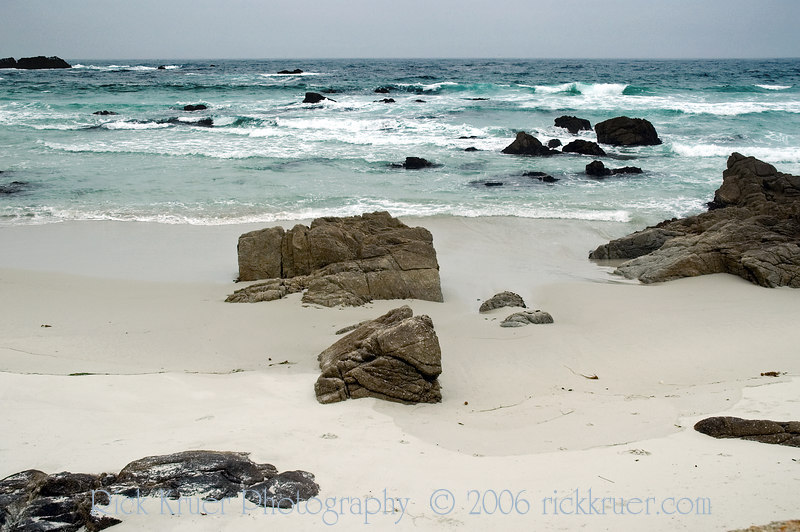 Neat beach with ocean boulders on the 17 Mile Drive, Monterey, CA<br /> ND70_2006-07-09DSC_4270-OceanRocks-3 copy.jpg
