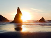 Oregon Sunset on the Rocks in Bandon, Oregon (P7163266-BandonSunsetRockCloseupNice-3.jpg)