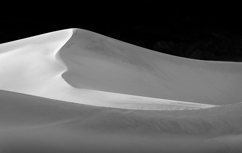 Sweeping Dune - Black & White