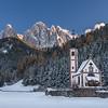 San Giovanni Church -  Dolomites