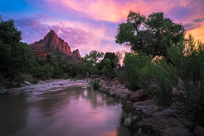 Watchman Sunset