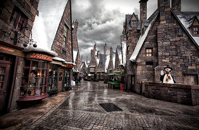 Hogsmeade Village at Universal's Islands of Adventure, Orlando, FL