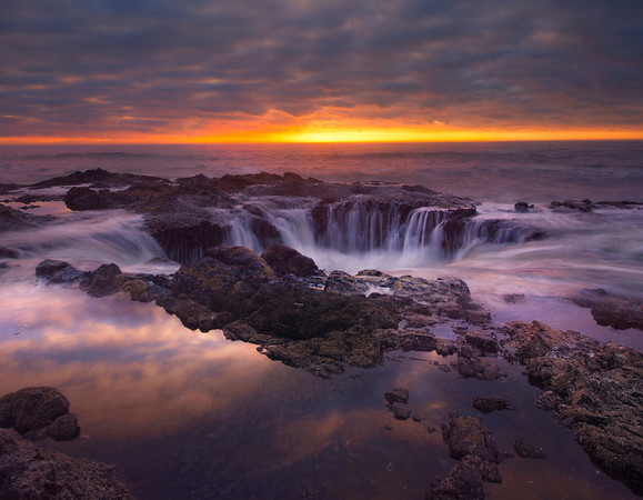 Thor's Well - Cape Perpetua, Oregon Coast, Oregon