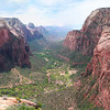 From Angel's Landing, Zion NP, Utah