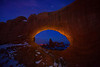 Light Painting At Turret Arch - Turret Arch, Arches National Park, Utah