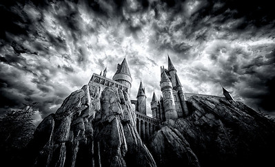 Hogwarts Castle at Universal's Islands of Adventure, Orlando, FL