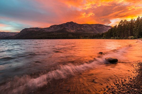 Fallen Leaf Lake Sunset