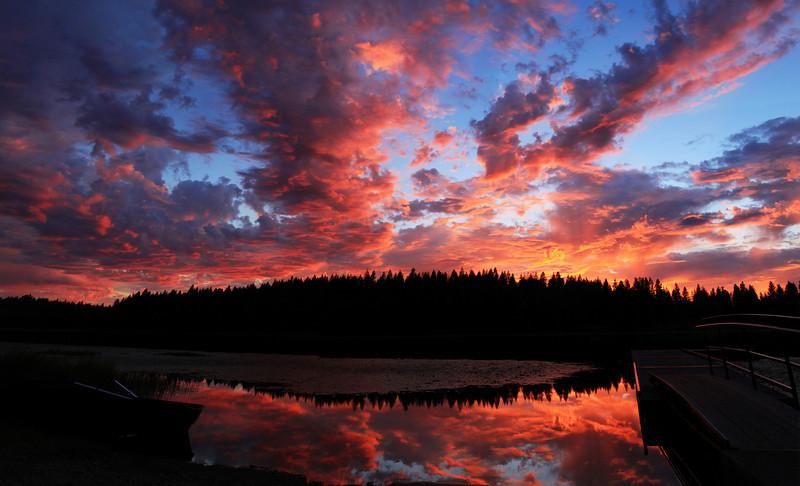 Shepherd Lake, Idaho