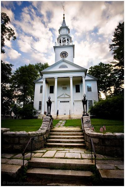 Church in Norfolk, Connecticut.