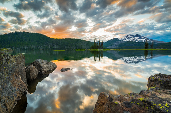 Sparks Lake Sunset