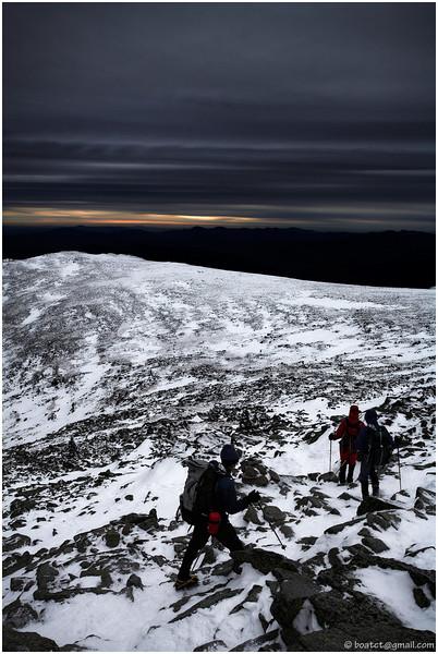 Mount Washington in December.