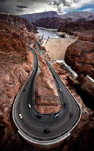 Hairpin curve, Hoover Dam, NV