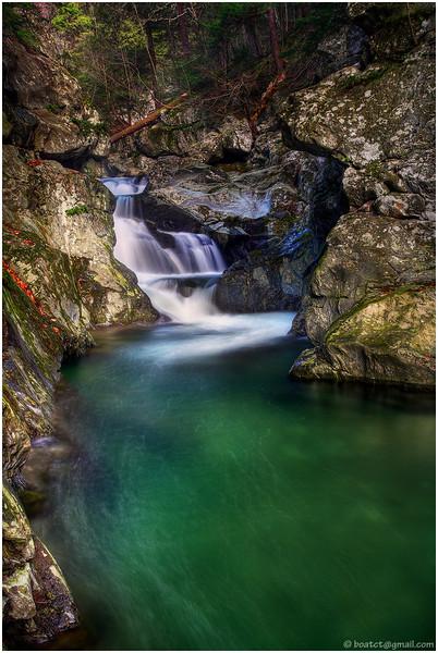 Bashbish falls, Massachusetts.