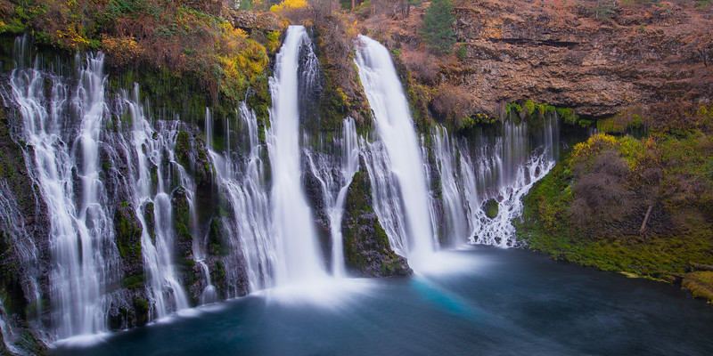 Autumn Color at Burney Falls