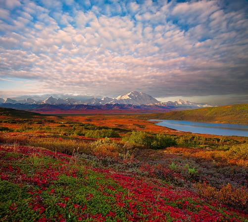 An Explosion Of Clouds Above Denali - Denali National Park, Alaska
