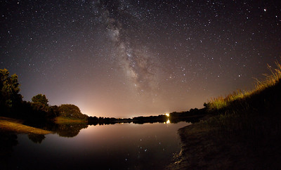 The Milky Way over Avon, NC