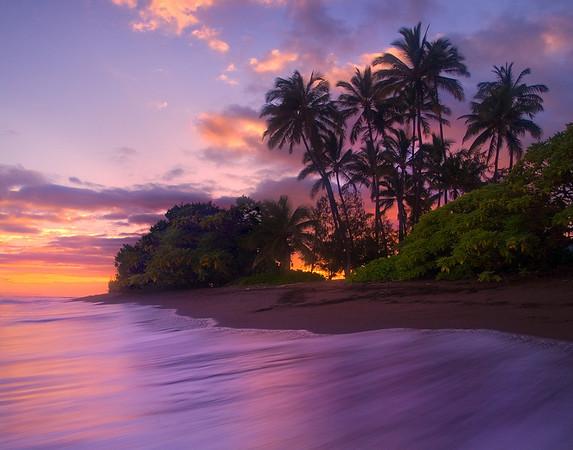 Poipu Sunset -  South Kauai, Hawaii