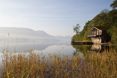 The famous Ullswater Boat House