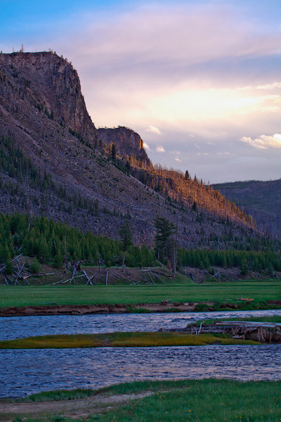 National Parks Mountain, Yellowstone, Wyoming