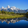 Schwabachers Landing Grand Tetons, Wyoming