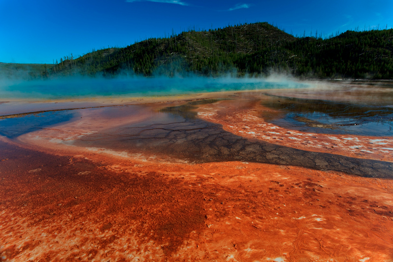 Yellowstone's Grand Prismatic Pool