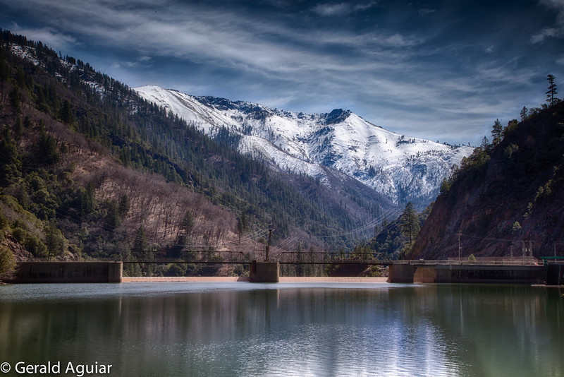 This is one several dams built on the Feather River.