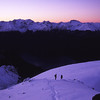 At dusk on Mt Luxmore
