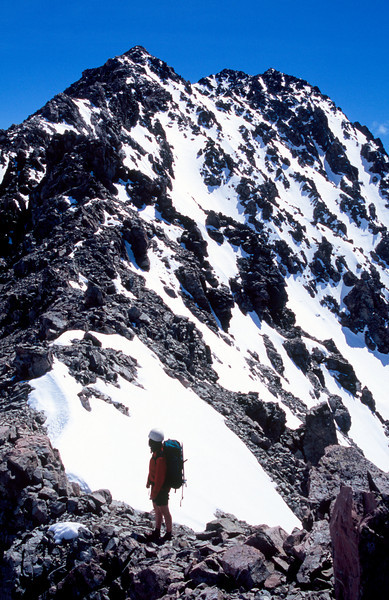 Climbing the Marquee, Arrowsmith Range