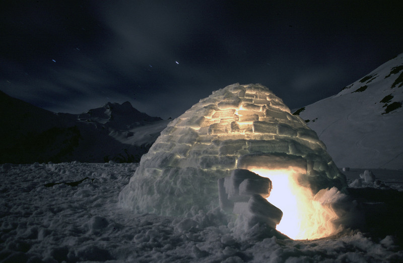 Igloo, Mt Armstrong