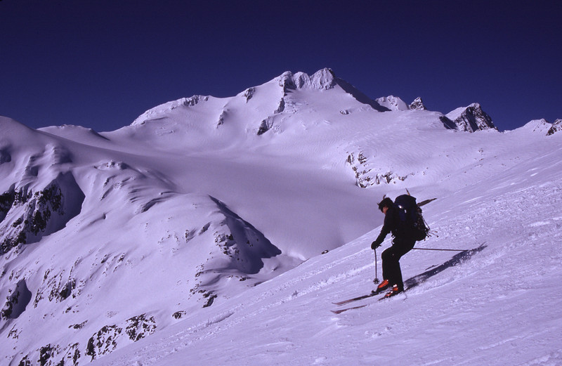 Skiing Mt Armstrong