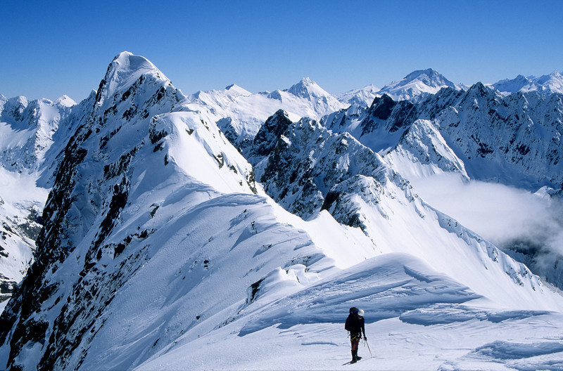 Boanerges summit ridge