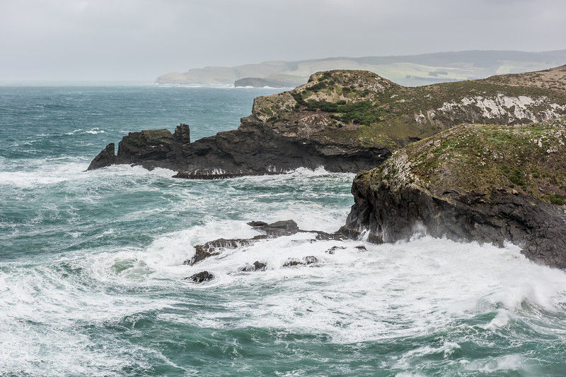 Stormy seas around False Islet