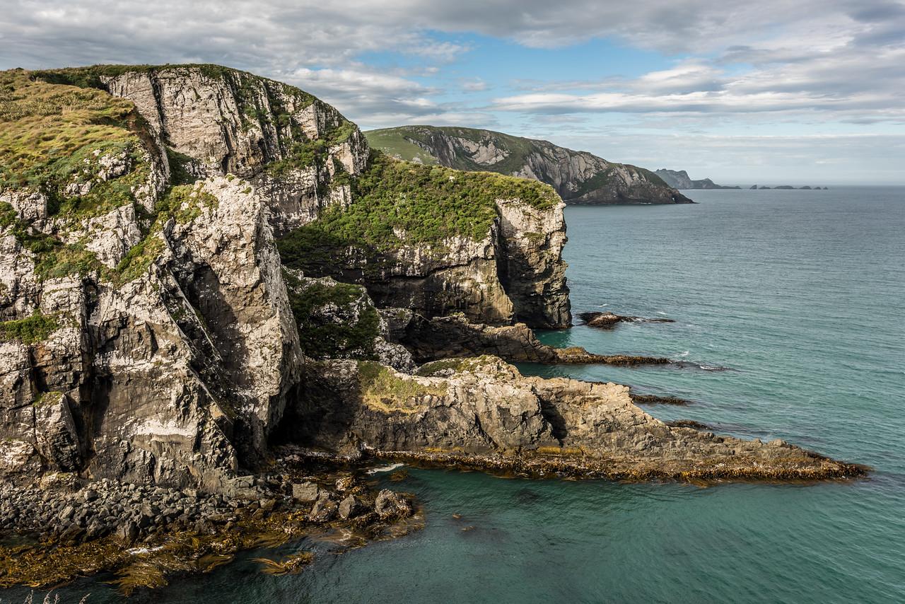 False Islet coastline
