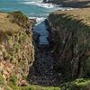 Tautuku Peninsula coastline... and the local dump :-(