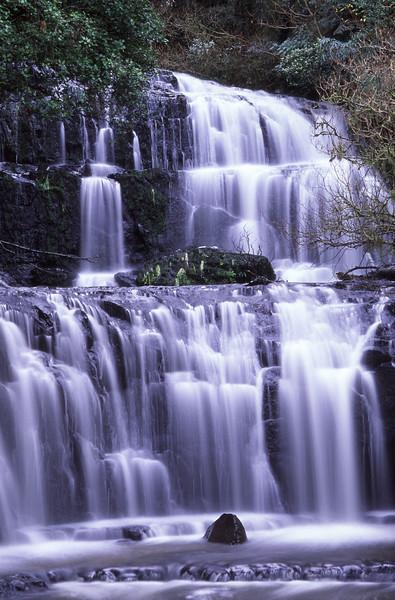 Purakauinui Falls