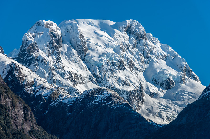 Mount Tutoko from the Hollyford Track.