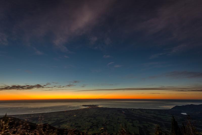 View of the Kaikoura Peninsula at dawn - 1