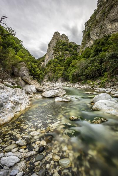 Waima River downstream of Sawcut Gorge