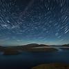 Star Trails over Lake Hauroko