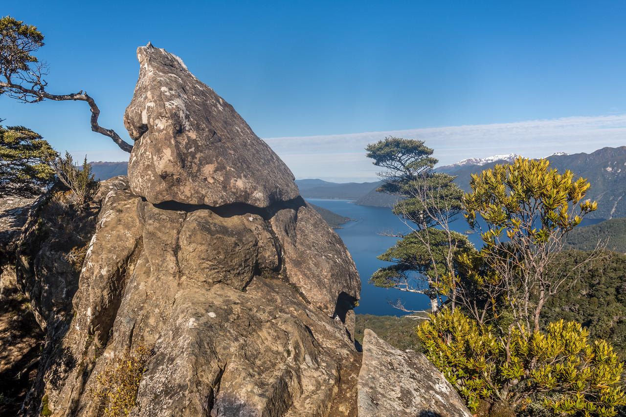 Lake Hauroko - Oblong Hill Lookout