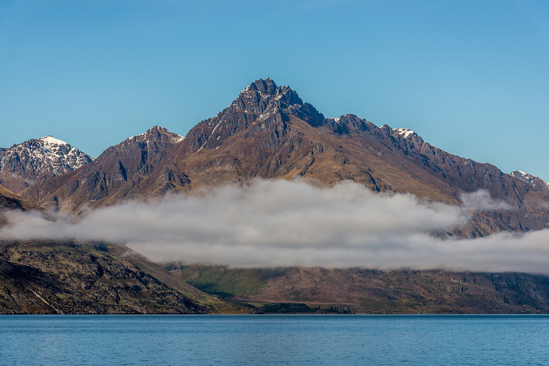 Walter Peak from the Glenorchy-Queenstown Rd