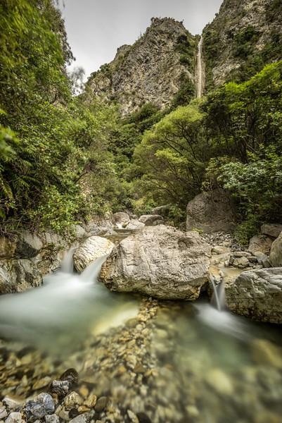 Isolation Creek upstream of Sawcut Gorge