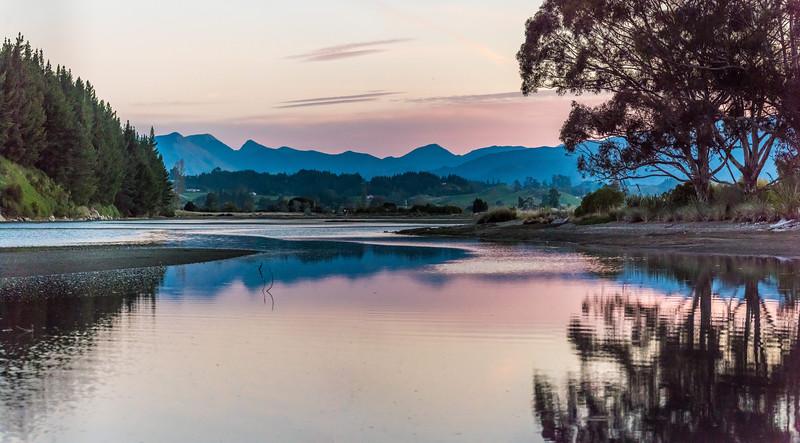 Motupipi River mouth. Rototai Reserve, Takaka.