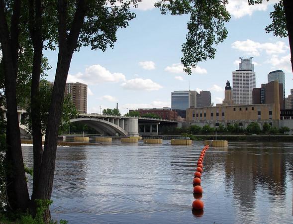 Mississippi River - Minneapolis, Minnesota