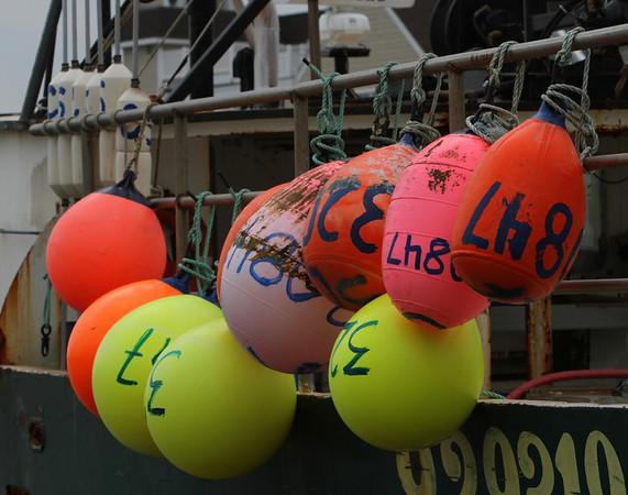 Fishing Buoys - Cape May, New Jersey